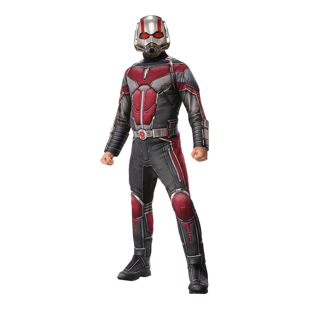 Maskeraddräkter - Ant-Man Movie Deluxe Maskeraddräkt - Standard