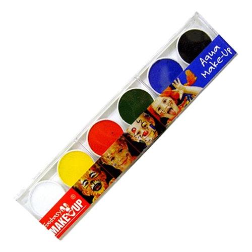 Ansiktsfärger 6-pack