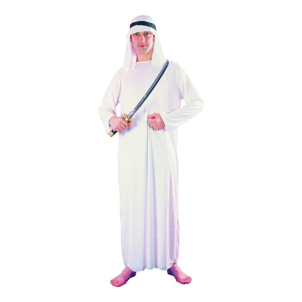 Arab Shejk Maskeraddräkt - One size