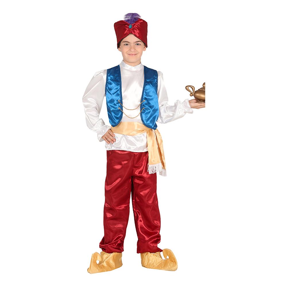 Arabisk Prins Barn Maskeraddräkt - 5-6 år
