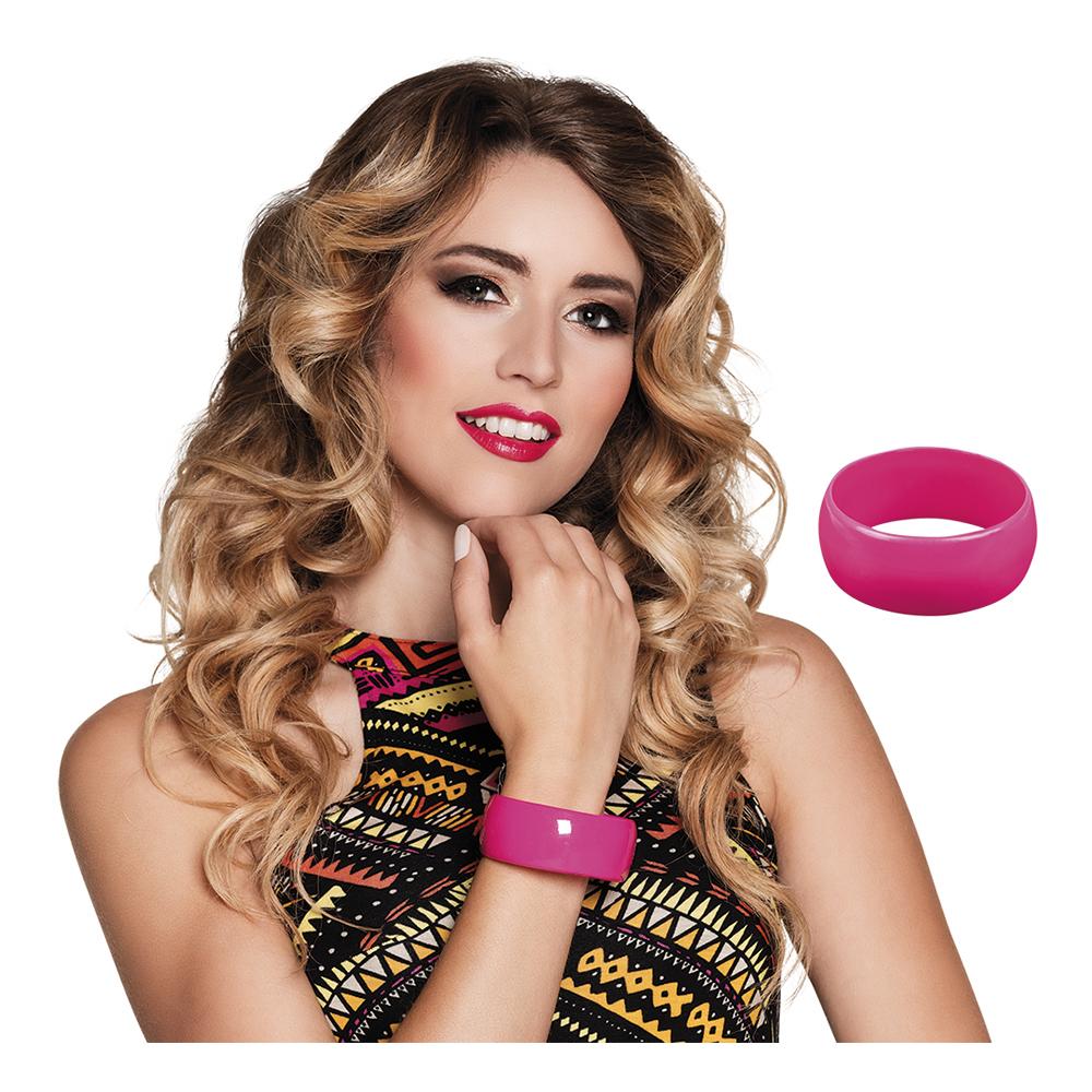 Armband Retro Rosa