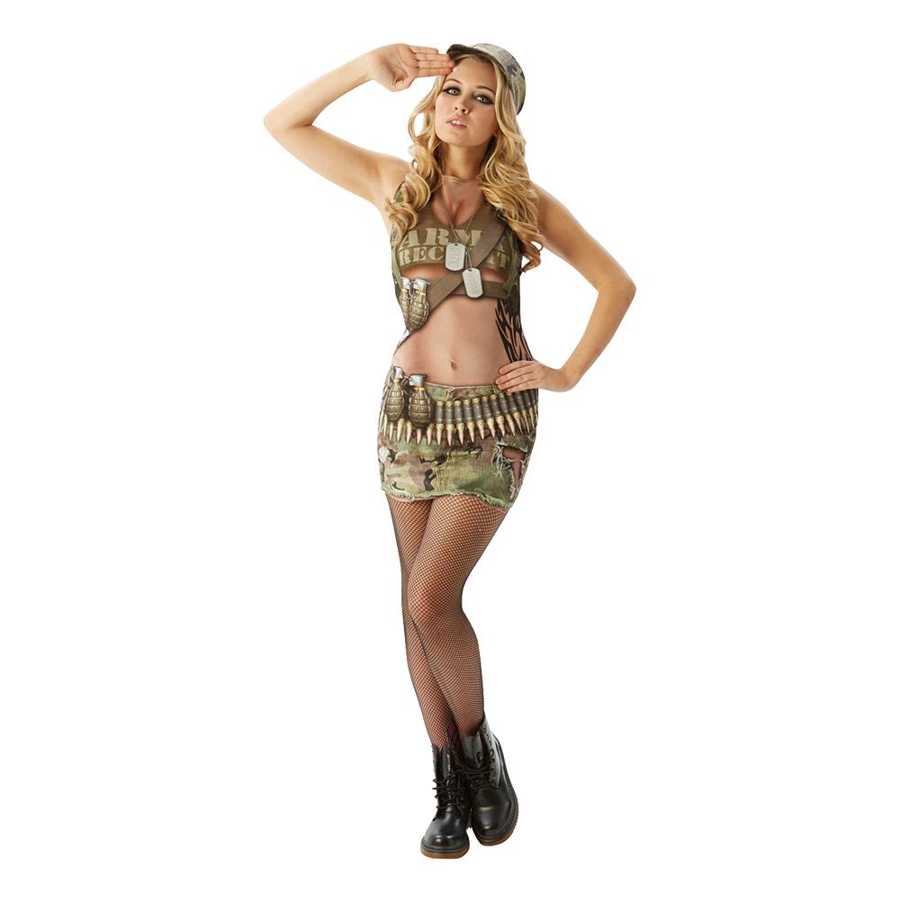Army Annie Maskeraddräkt - X-Small