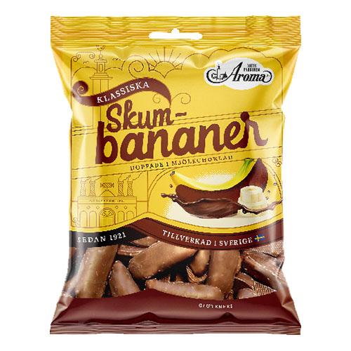 Aroma Chokladbananer Skum - 100 gram
