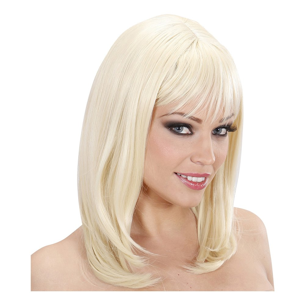 Ashley Blond Deluxe Peruk - One size