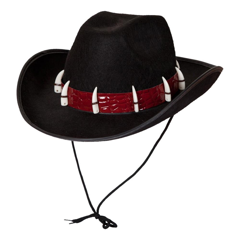 Australisk Hatt med Tänder - One size