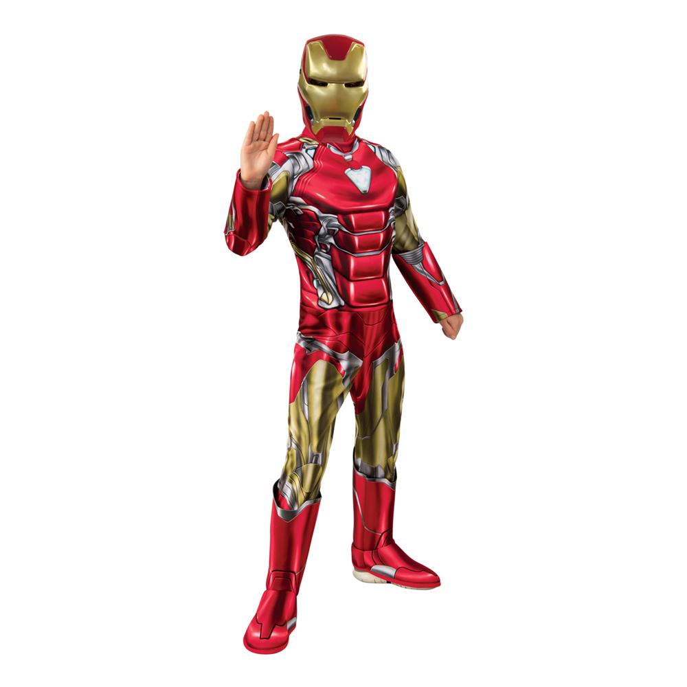 Avengers 4 Iron Man Deluxe Barn Maskeraddräkt - Large