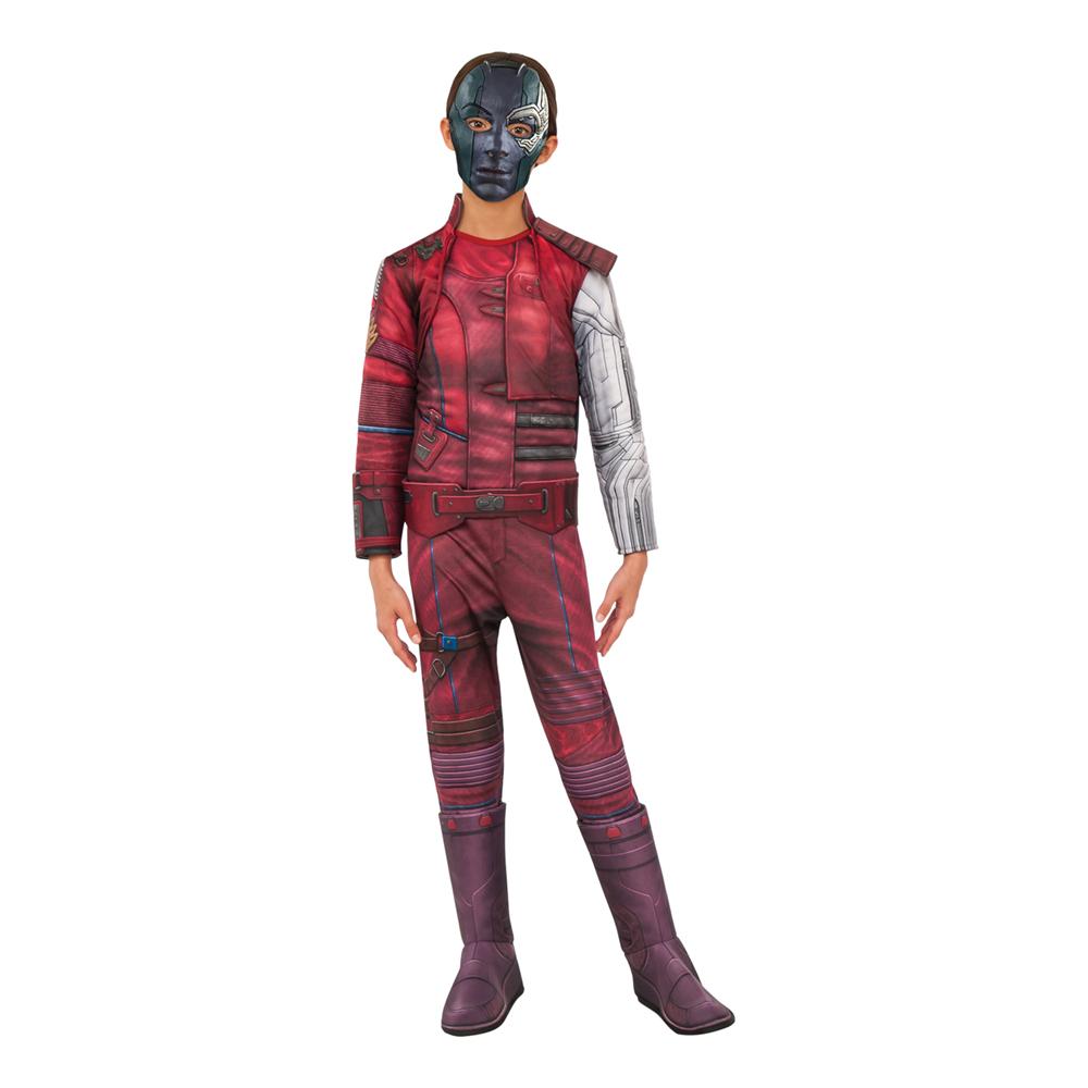 Avengers 4 Nebula Deluxe Barn Maskeraddräkt - Small