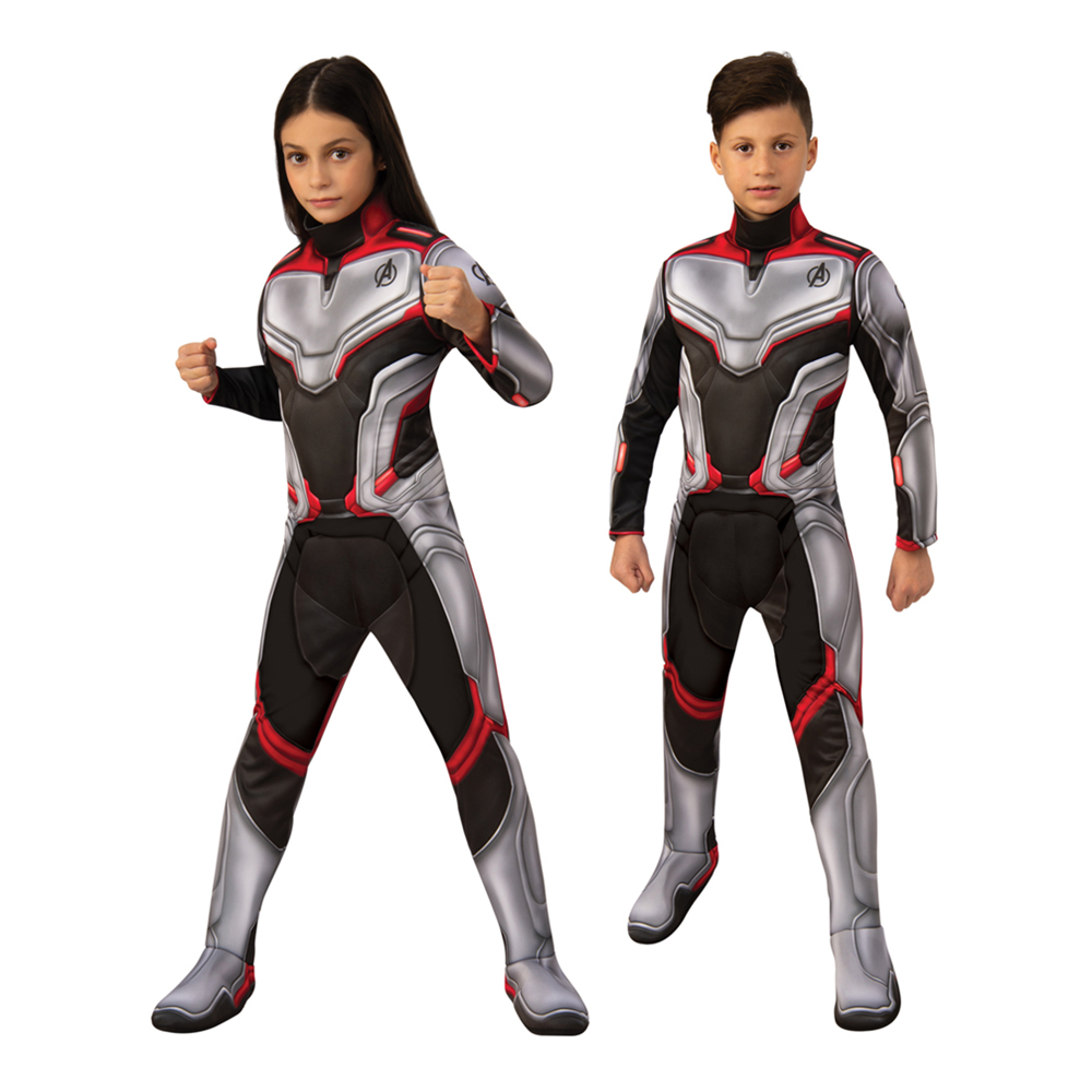 Avengers 4 Team Suit Deluxe Barn Maskeraddräkt - Small