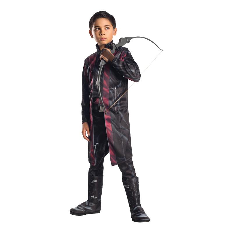 Avengers Hawkeye Deluxe Barn Maskeraddräkt - Medium