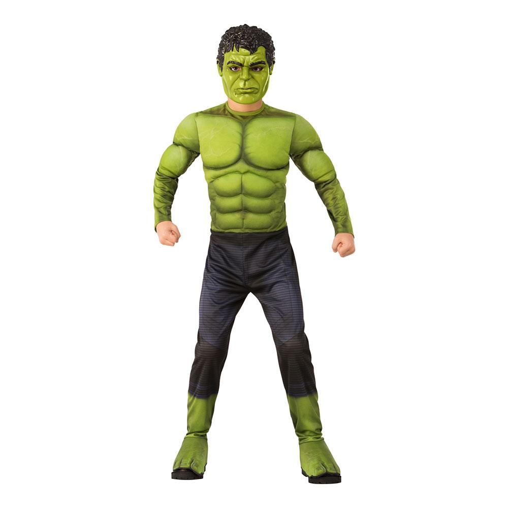 Avengers Hulken Barn Maskeraddräkt - Small