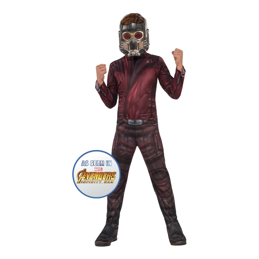 Avengers Star Lord Barn Maskeraddräkt - Small
