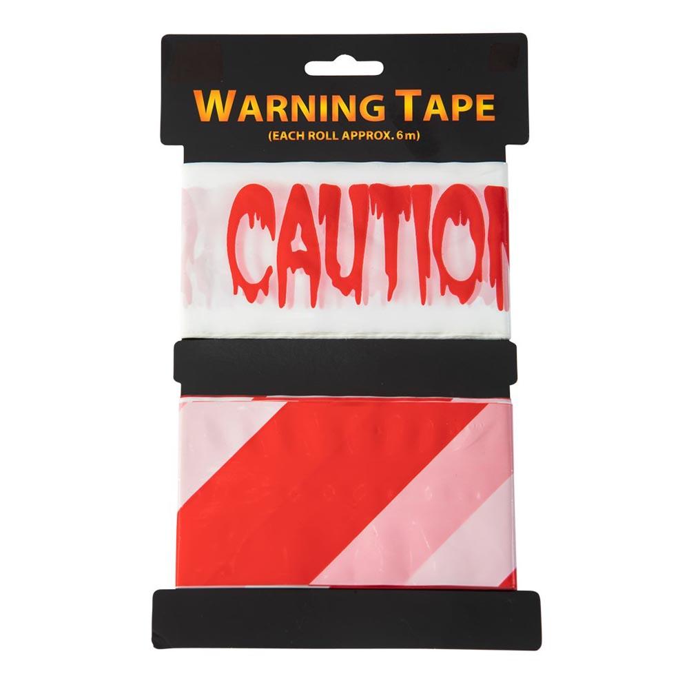Avspärrningstejp Caution - 2-pack