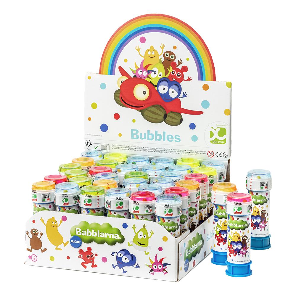 Babblarna Såpbubblor - 36-pack
