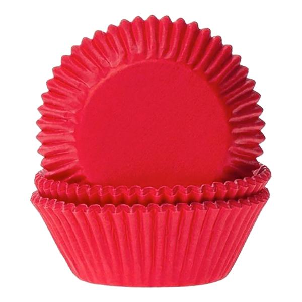 Muffinsformar Röd - 50-pack