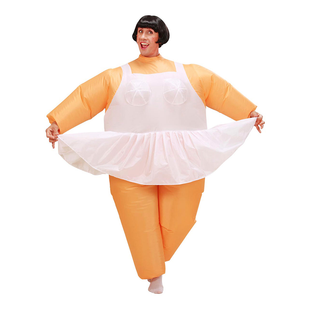 Ballerina Uppblåsbar Maskeraddräkt - One size