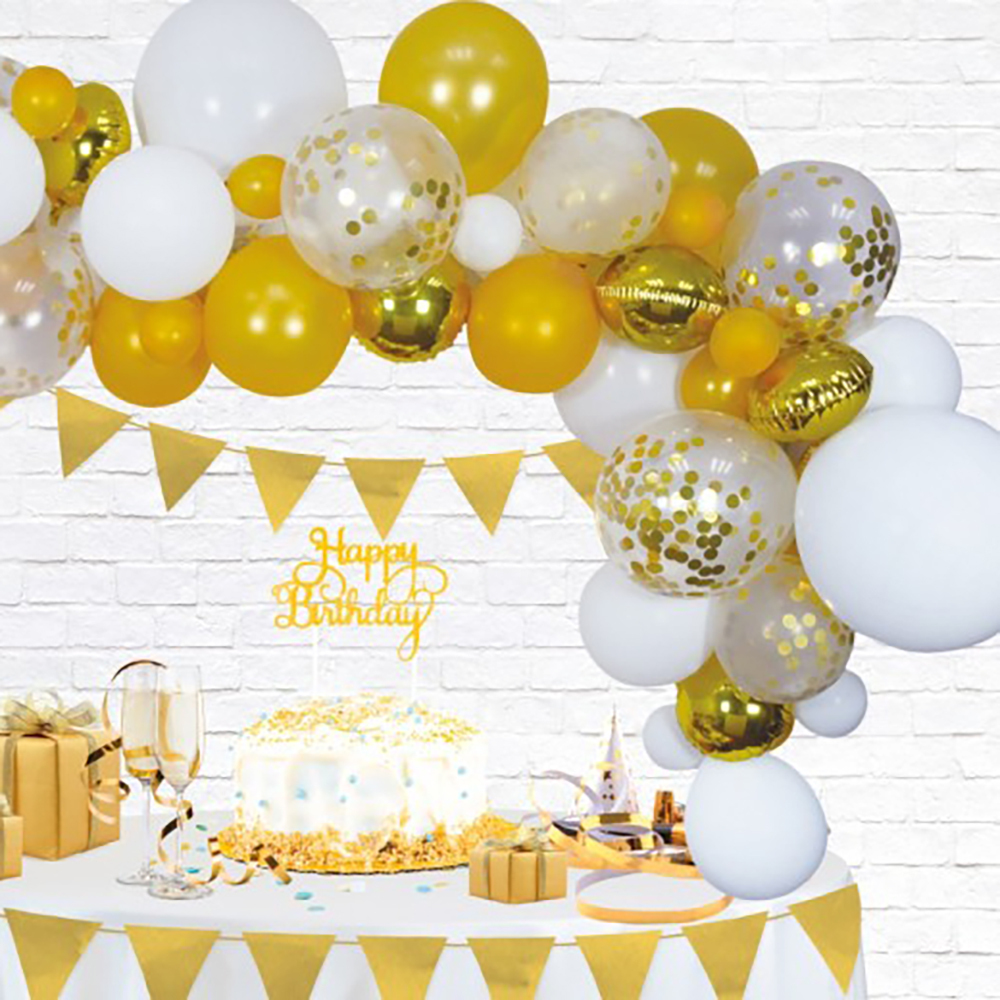 Ballongbåge Golden Party | Hem//Festartiklar//Ballonger//Latexballonger | Partyoutlet