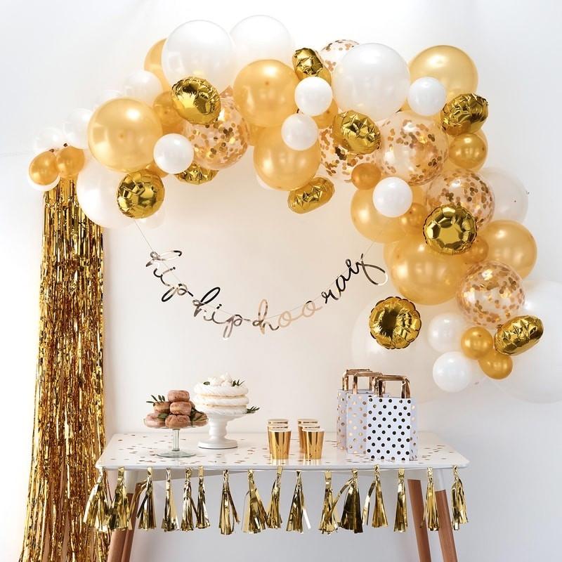 Ballongbåge Guld