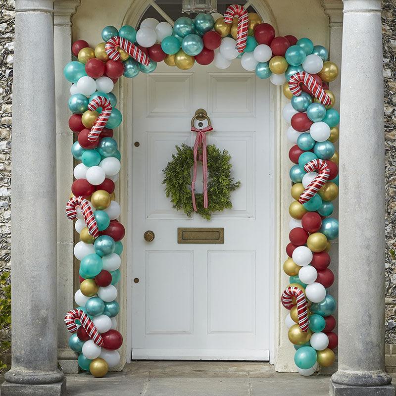 Ballongbåge till Dörr Julmix