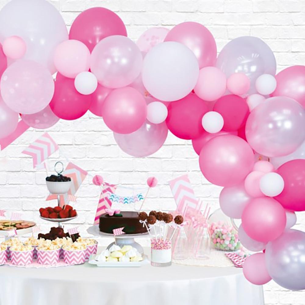 Ballongbåge Pink Party