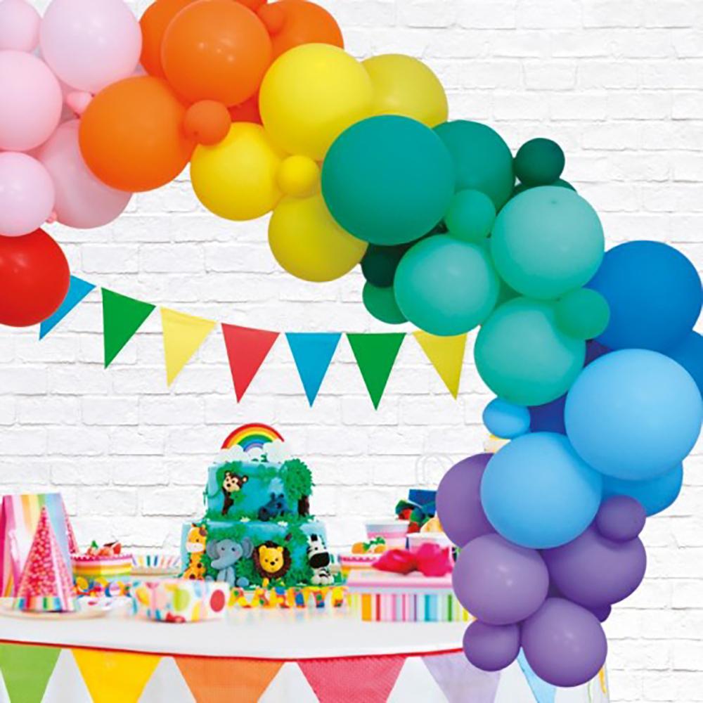 Ballongbåge Rainbow Party