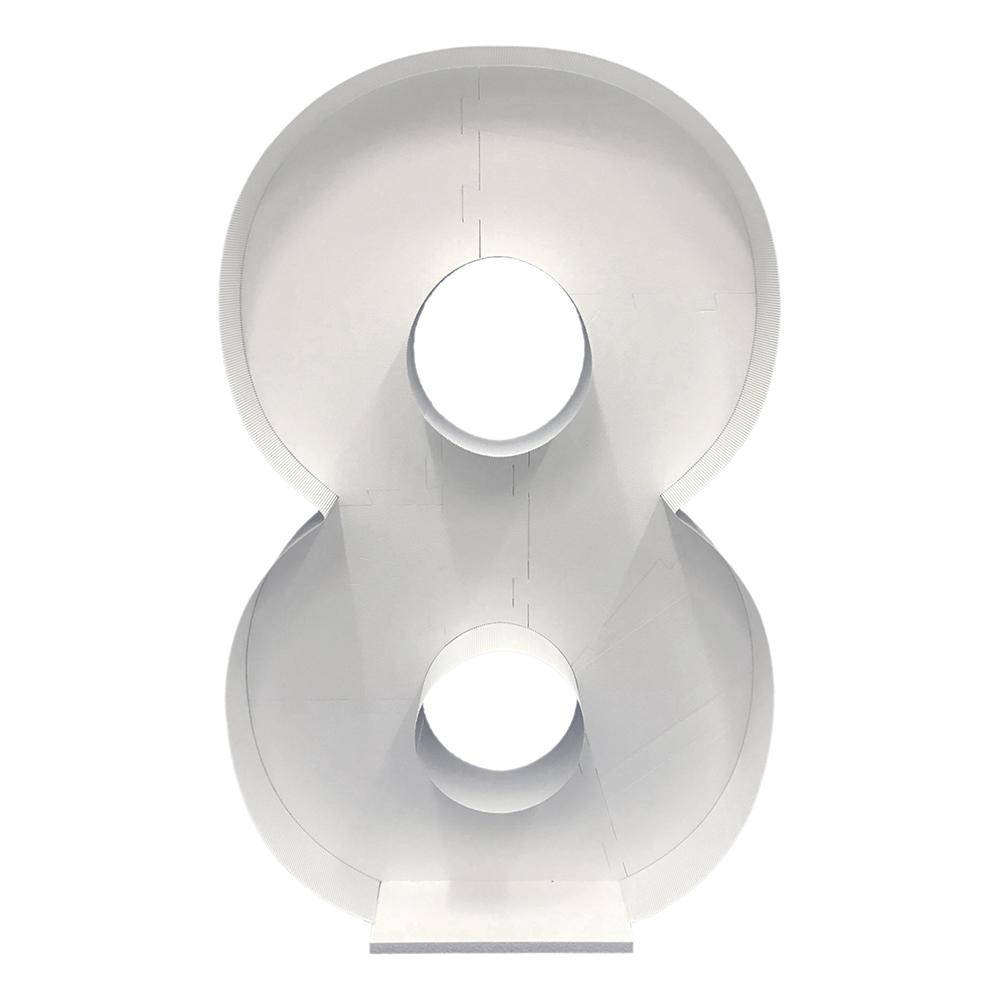 Ballongbox Siffra Stor - Siffra 8