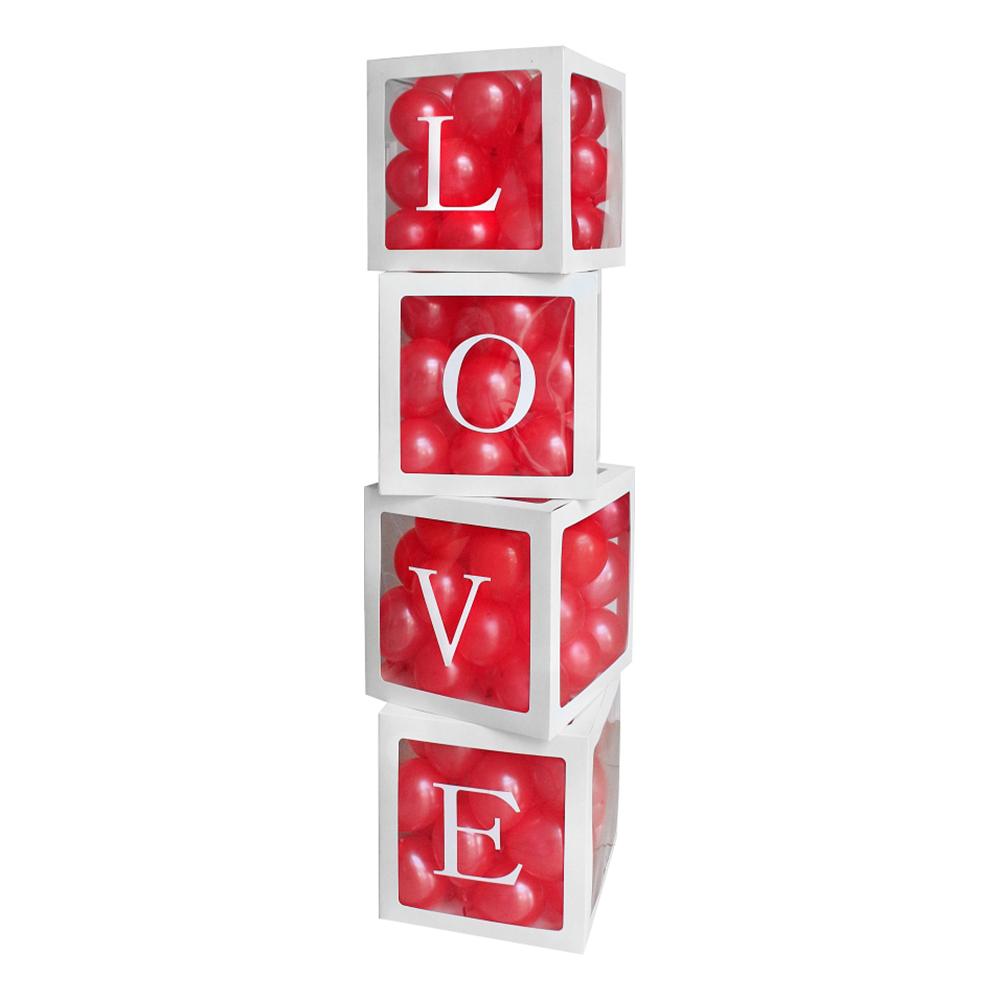 Ballongboxar Love