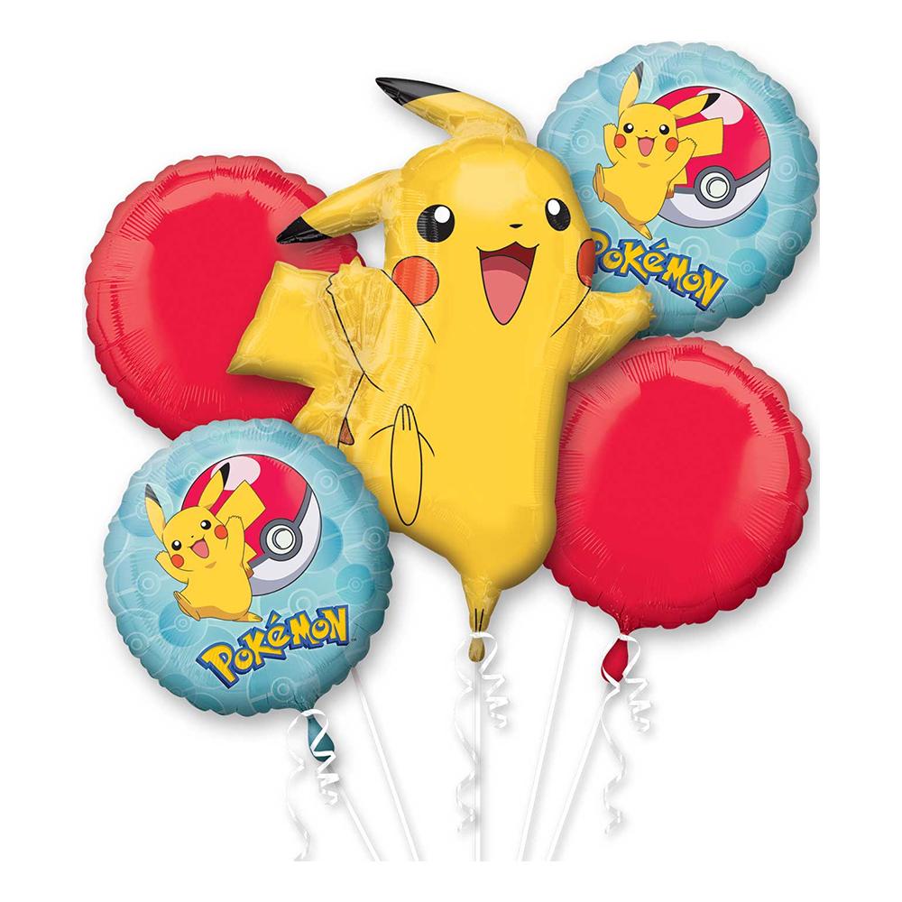 Ballongbukett Pokémon Pikachu