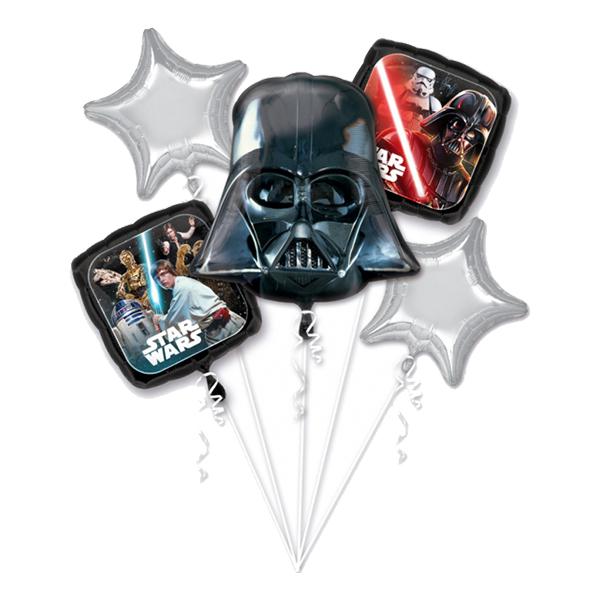 Ballongbukett Star Wars - 5-pack