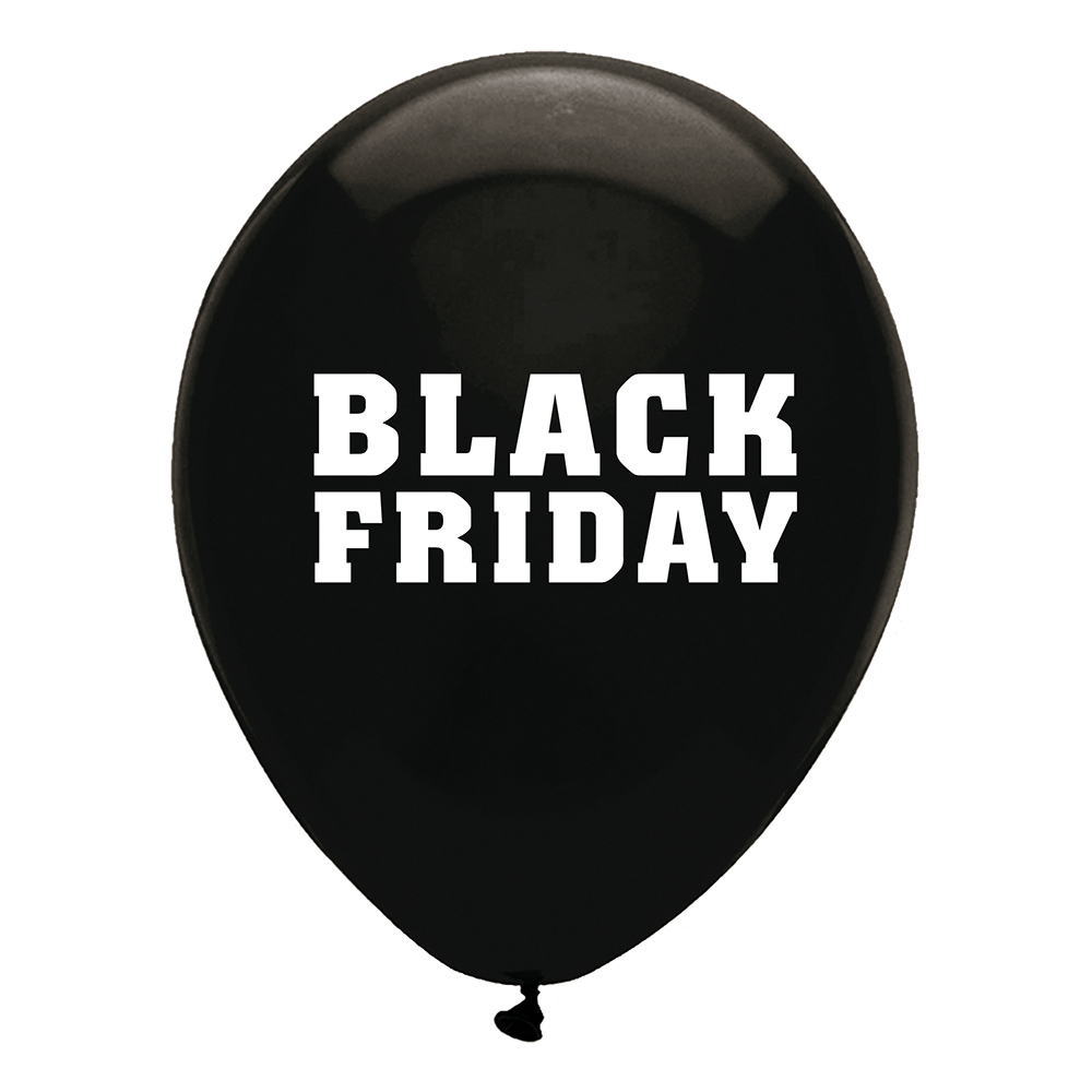 Ballonger Black Friday - 10-pack