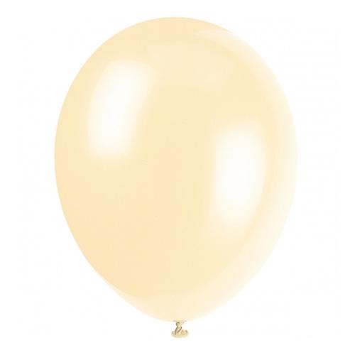 Ballonger Elfenben - 100-pack