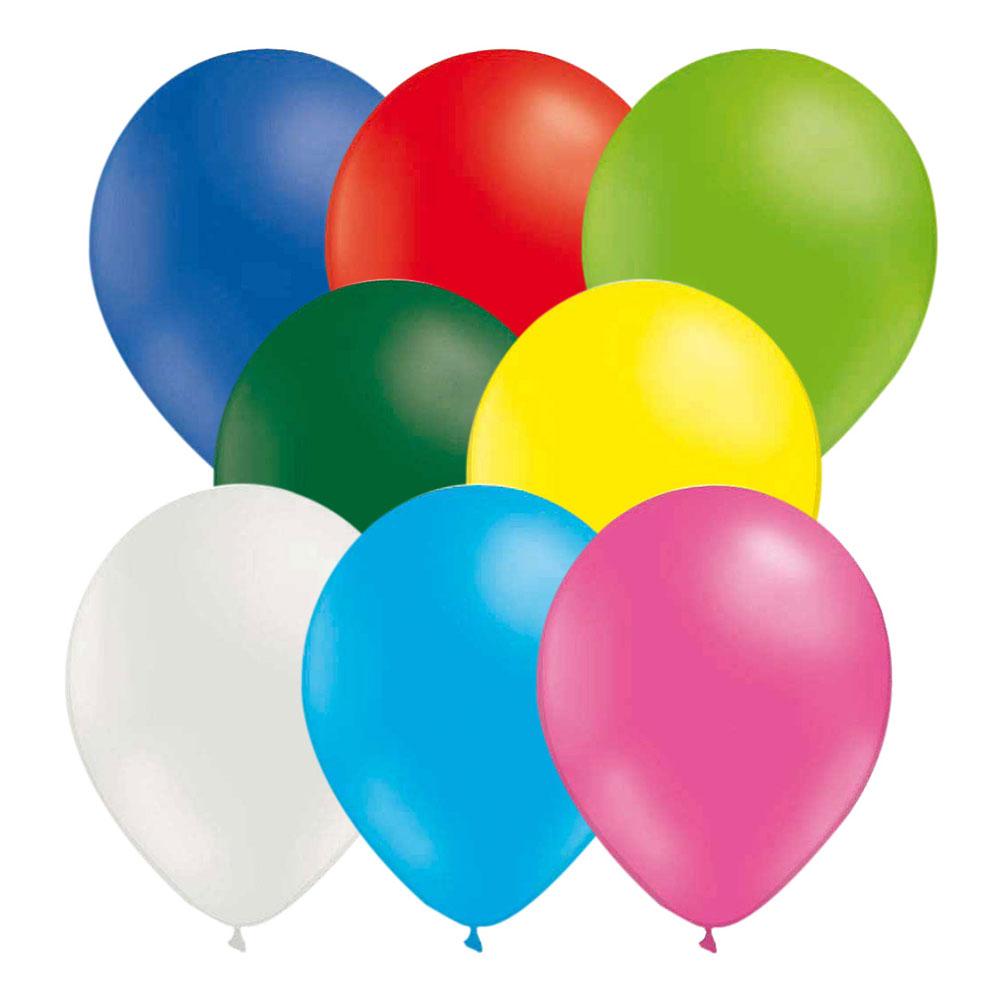 Ballonger Flerfärgade - 50-pack