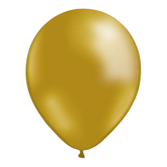 Ballonger Guldmetallic - 100-pack