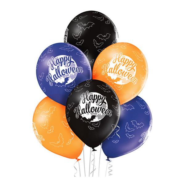 Ballonger Happy Halloween Premium - 6-pack