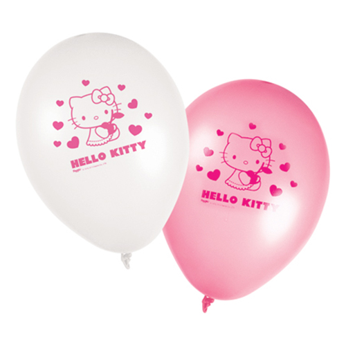 Ballonger Hello Kitty - 8-pack