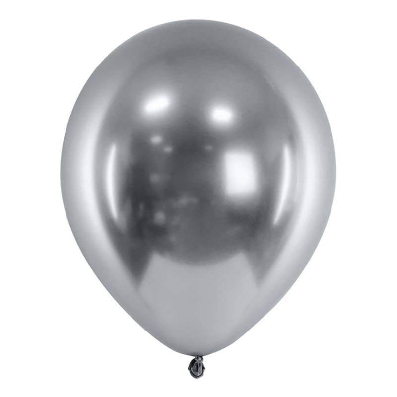 Ballonger Krom Silver - 50-pack