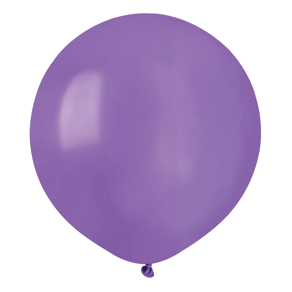 Ballonger Ljuslila Runda Stora - 10-pack