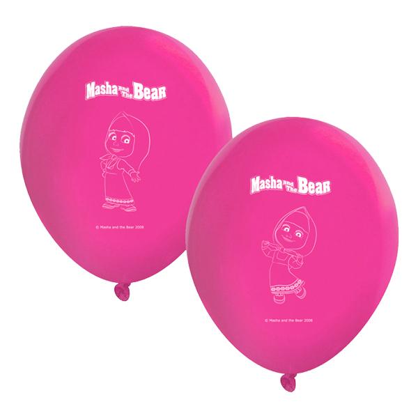 Ballonger Masha och Björnen - 8-pack