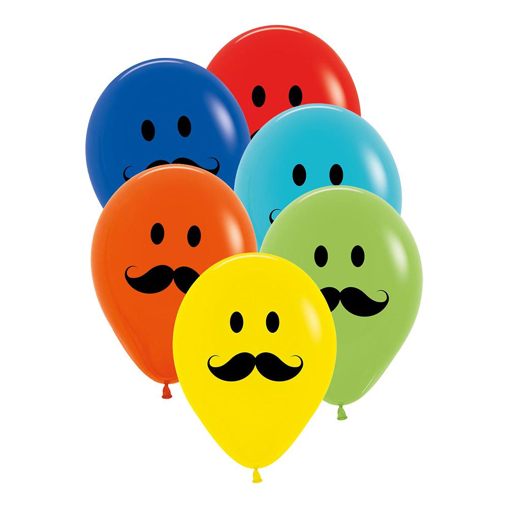 Ballonger Mustasch - 6-pack