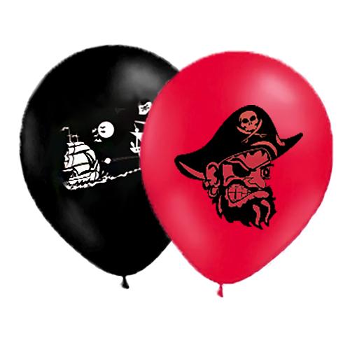 Ballonger Pirater - 10-pack