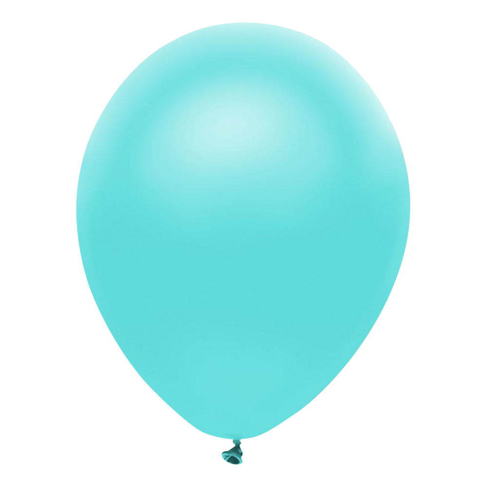 Ballonger Professional Metallic Ljusblå - 100-pack