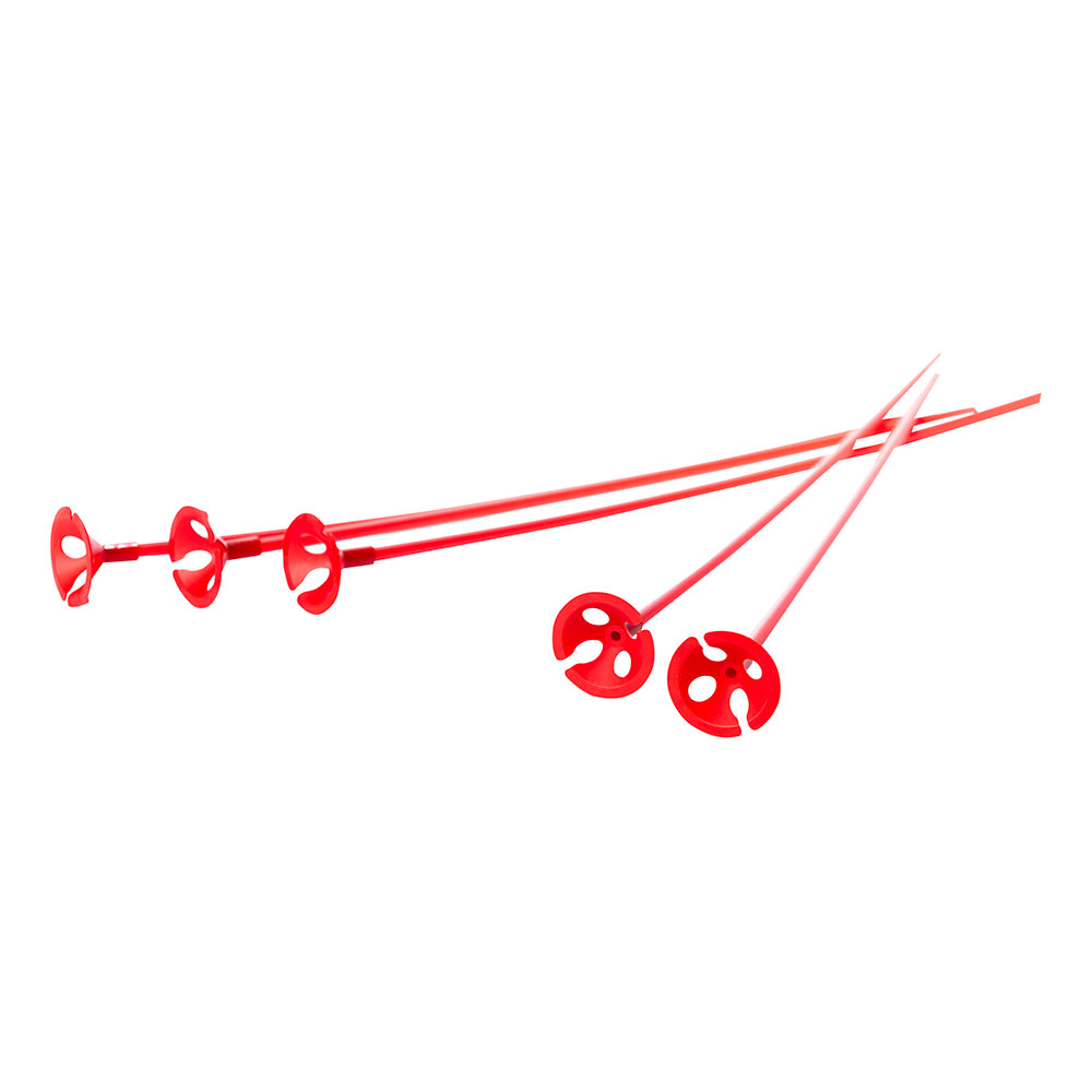 Ballongpinnar - Ballongpinnar Röda - 10-pack