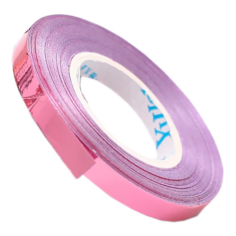 Ballongsnöre Metallic - Rosa