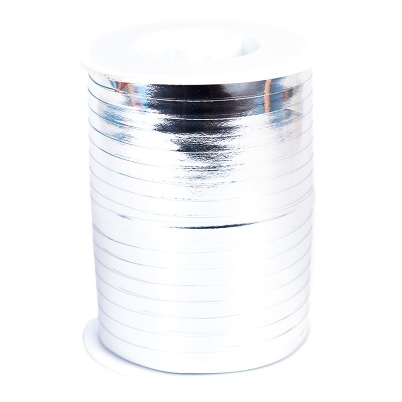 Ballongsnöre Metallic Silver - 500m * 4,8mm