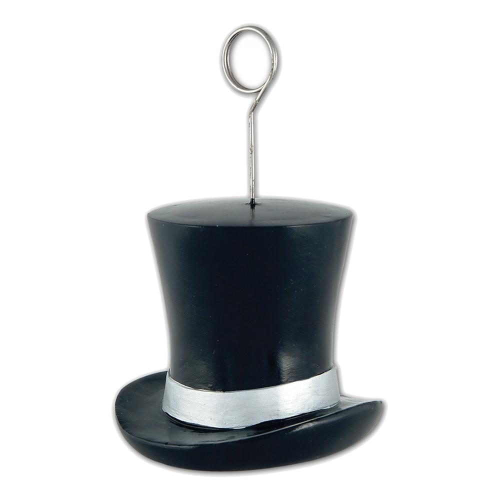 Ballongvikt Hatt Svart/Silver - 1-pack