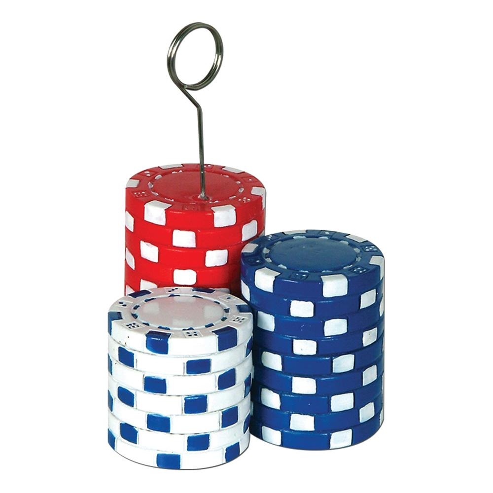 Ballongvikt Pokerchips