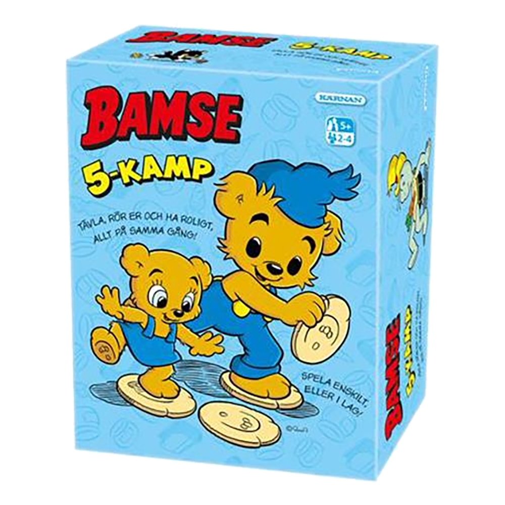 Bamse 5-kamp Barnspel