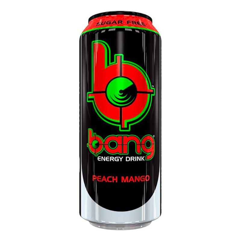 BANG Energy Peach Mango - 12-pack