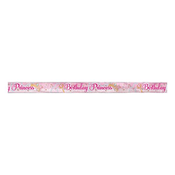 Banderoll Birthday Princess