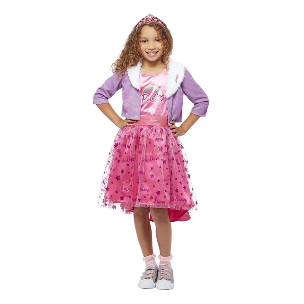 Barbie Prinsessa Delux Barn Maskeraddräkt - Small