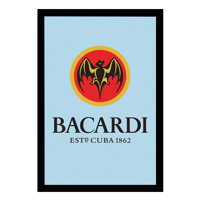 Barspegel Bacardi